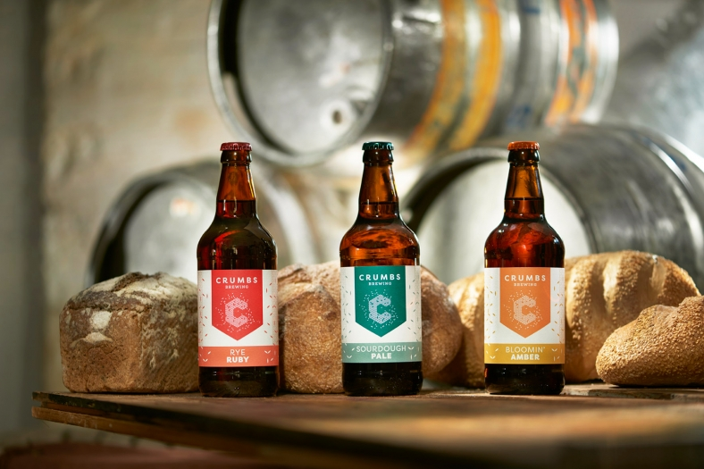 Crumbs - ales brewed in partnership with Goddard's Brewery